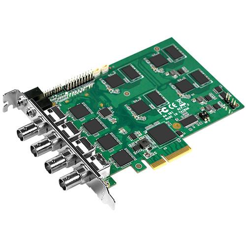 YUAN SC542N4 4-Channel PCIe x4 SDI Capture Card