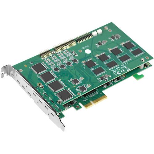 YUAN SC542N8 8-Channel PCIe x4 HDMI Capture Card