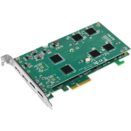 YUAN SC560N4 4-Channel PCIe x4 HDMI 4K Capture Card