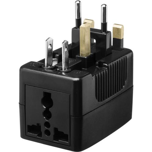 Yubi Power Travel Plug Adapter (Black)