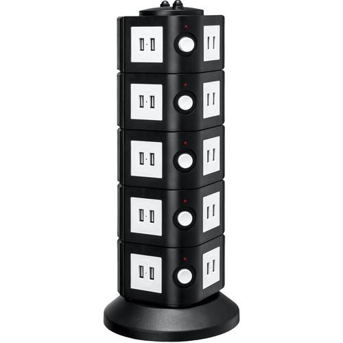 Yubi Power 40-Port USB Charging Power Tower