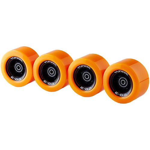 YUNEEC EGOCR006 Wheel Set with Pre-Installed Bearings for E-Go Cruiser Electric Skateboard