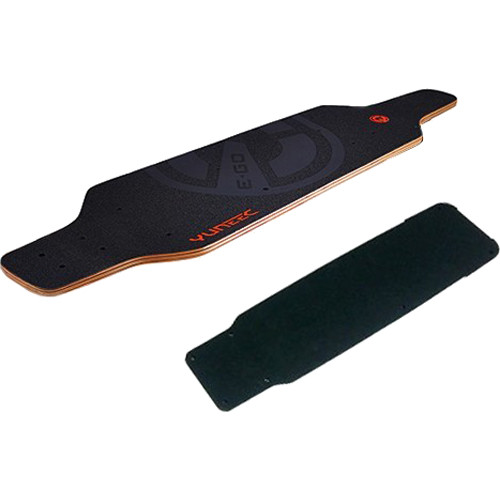 YUNEEC EGOCR016 Deck with Grip Tape for US Plug for E-Go Cruiser Electric Skateboard