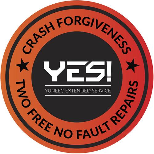 YUNEEC YES! 1-Year Crash Forgiveness Warranty