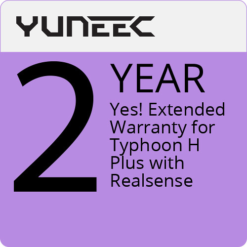 YUNEEC Yes Extended Warranty - Typhoon H+ W/ Realsense 2Yr