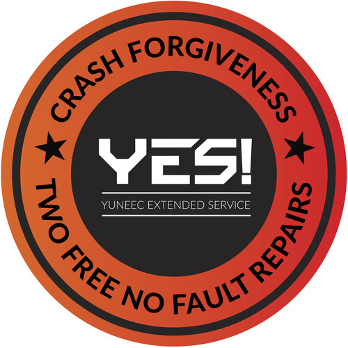 YUNEEC YES! 1-Year Crash Forgiveness Warranty for Typhoon H Hexacopter with RealSense