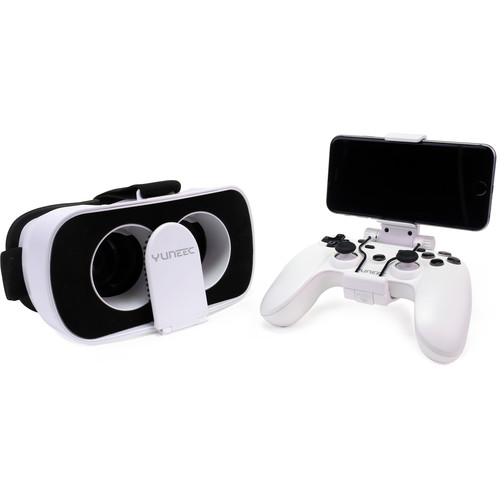 YUNEEC FPV Goggles and Controller for Breeze Quadcopter