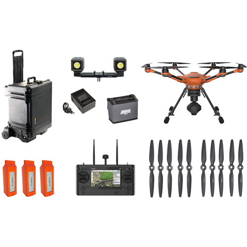 YUNEEC H520-E50 Bundle H520 Airframe, ST16S, 3 Batteries and Charger, E50 3-Axis Gimbal Camera