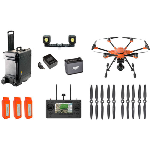 YUNEEC H520 Commercial Hexacopter Bundle with E90 Camera & Accessories