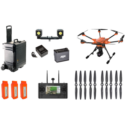 YUNEEC H520-CGOET Bundle H520 Airframe, ST16S, 3 Batteries, Charger, CGOET 3-Axis Gimbal Camera
