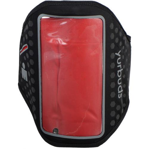 yurbuds Ergosport LED Smartphone Armband for iPhone 5/5s/5c/SE (Black/Red)