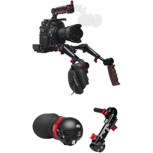 Zacuto Gratical Eye Recoil Pro with Dual Trigger Grips Bundle for Canon C200