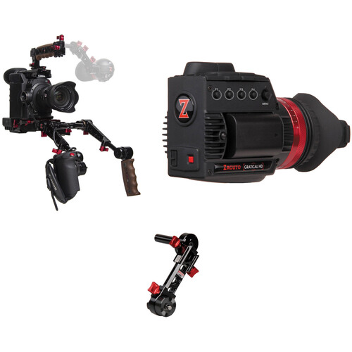 Zacuto Gratical HD Bundle with Dual Grips for Canon C300 Mark II