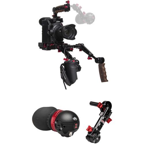 Zacuto Gratical Eye Bundle with Dual Grips for C300 Mark II