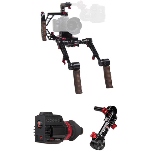 Zacuto Gratical HD Indie Recoil with Dual Grips Bundle