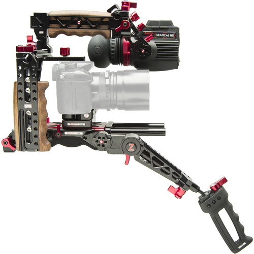 Zacuto Indie Gratical HD EVF Bundle with Zgrip Trigger