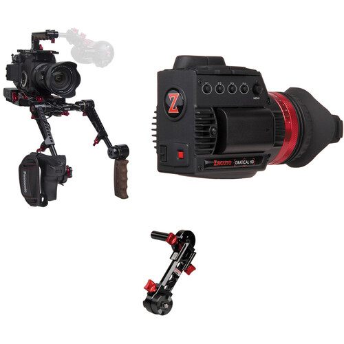 Zacuto EVA1 EVF Recoil Pro with Dual Trigger Grips Axis Mini and Gratical HD