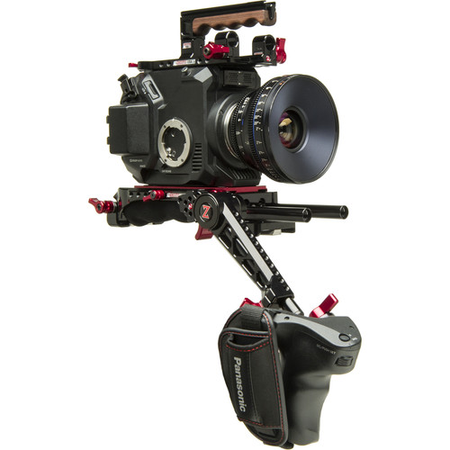 Zacuto Eva1 Evf Recoil Pro For Panasonic Camera Z Eva Erp border=