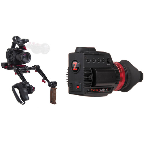 Zacuto Gratical HD Recoil with Dual Grips Bundle for Sony FS5/FS5 II