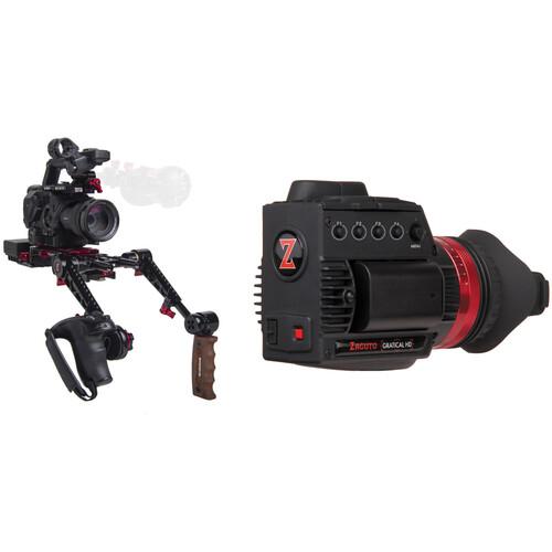 Zacuto Gratical HD Recoil with Dual Grips Bundle for Sony FS5/FS5 II