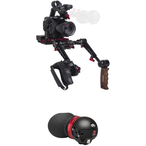 Zacuto Gratical Eye Bundle with Dual Grips for Sony FS5/FS5 II