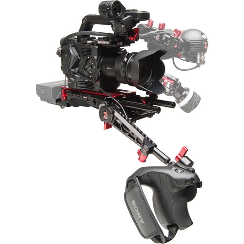 Zacuto Sony FS5 EVF Recoil Pro with VCT Pro Baseplate