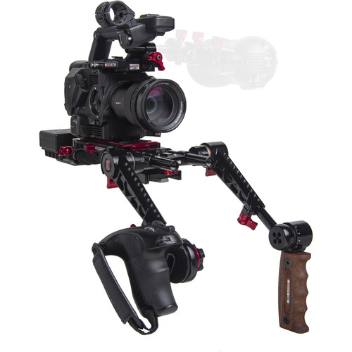 Zacuto Sony FS5/FS5M2 EVF Recoil with Dual Trigger Grips