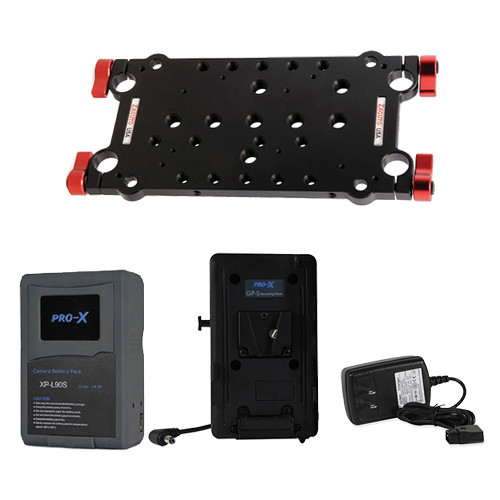 Zacuto Zwiss Plate with V-Mount Plate, Battery and Charger for Blackmagic Kit