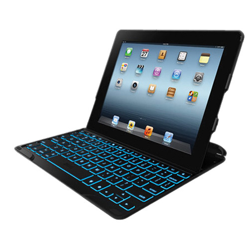 ZAGG ZAGGkeys PROfolio+ Keyboard Case Cover for iPad 2nd, 3rd, 4th Gen