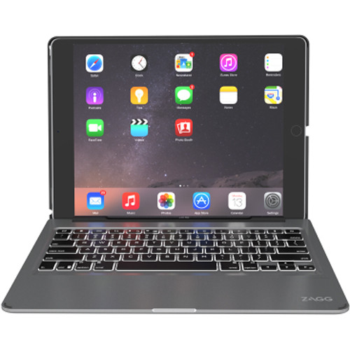 "ZAGG Slim Book Keyboard Case for 12.9"" iPad Pro (Black)"