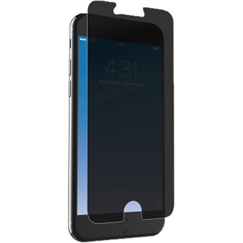 ZAGG InvisibleShield Glass+ Privacy Screen Protector for iPhone 6/6s/7/8