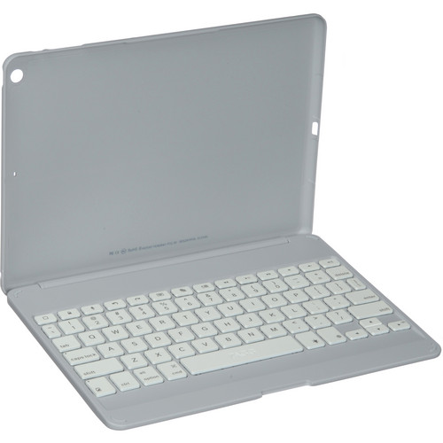 ZAGG ZAGGkeys Folio with Backlit Keyboard for Apple iPad Air (White)