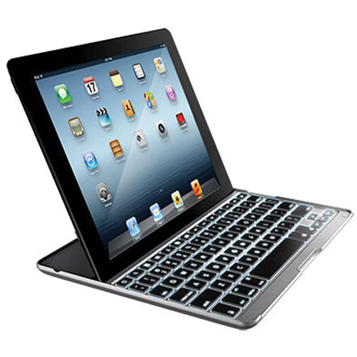 ZAGG ZAGGkeys PROplus Backlit Keyboard Case Cover for iPad 2nd, 3rd, 4th Gen