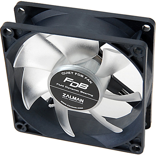 ZALMAN USA 80 mm FDB Silent Cooling Fan