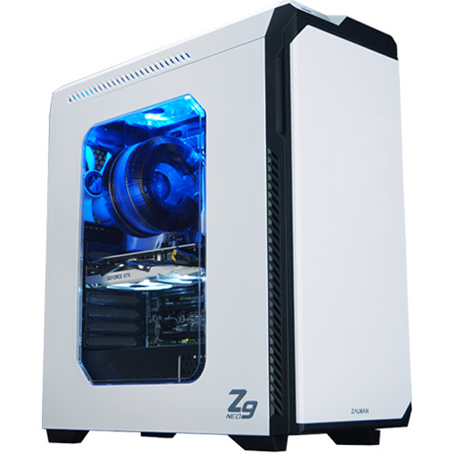 ZALMAN USA Z9-NEO Mid-Tower Case (White)
