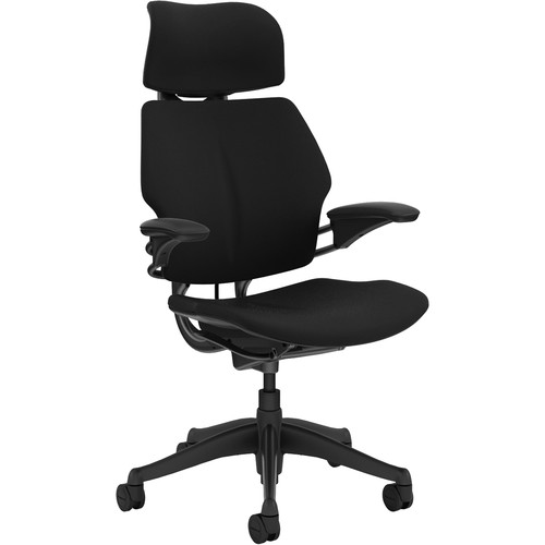 Humanscale Freedom Headrest - Cloth (Black)