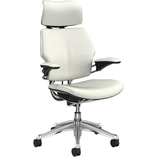 Humanscale Freedom Headrest - Leather (White)