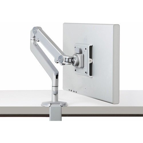 Humanscale M2 Monitor Arm with Clamp Mount (Gray/Silver)