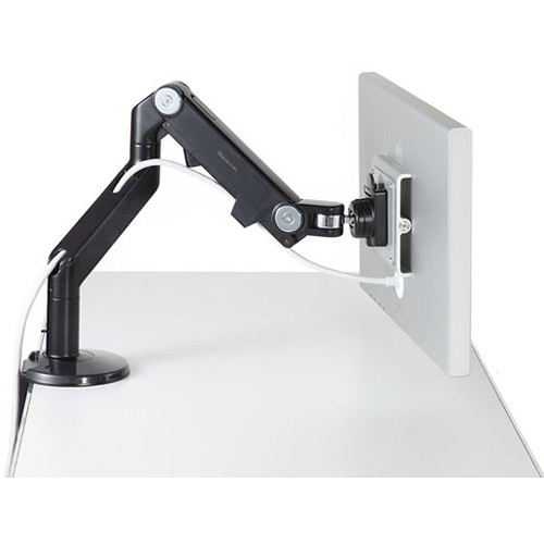 Humanscale M8 Monitor Arm with Clamp Mount (Black)