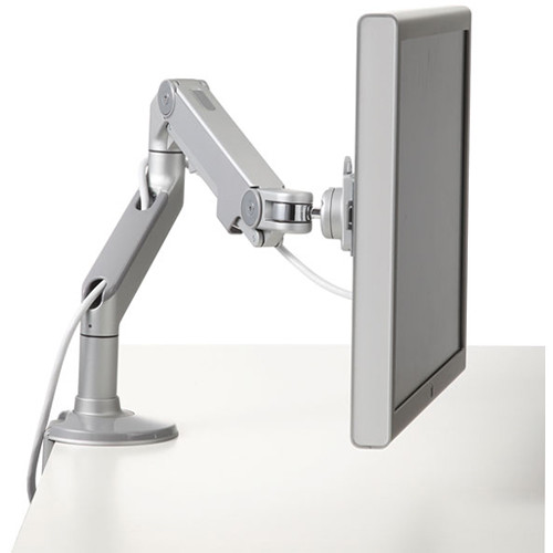 Humanscale M8 Monitor Arm with Clamp Mount (Gray/Silver)