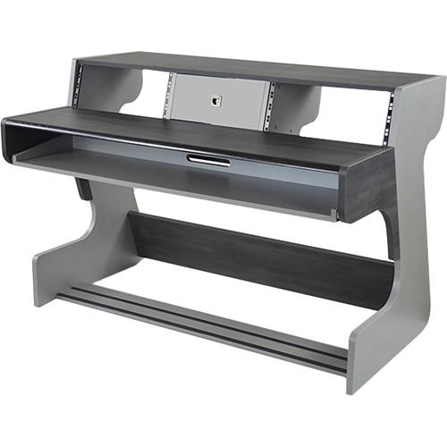 Zaor Miza 88 Studio Desk (Titanium Wengé)