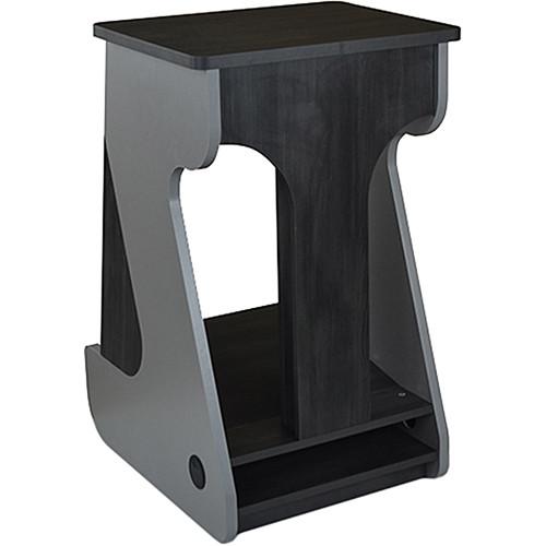 Zaor Miza Furniture Rack with 12 RU Space (Titanium/Wenge)
