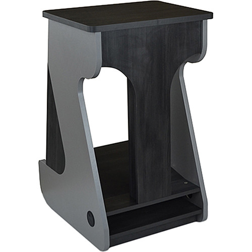 Zaor Miza Furniture Rack with 16 RU Space (Titanium/Wenge)