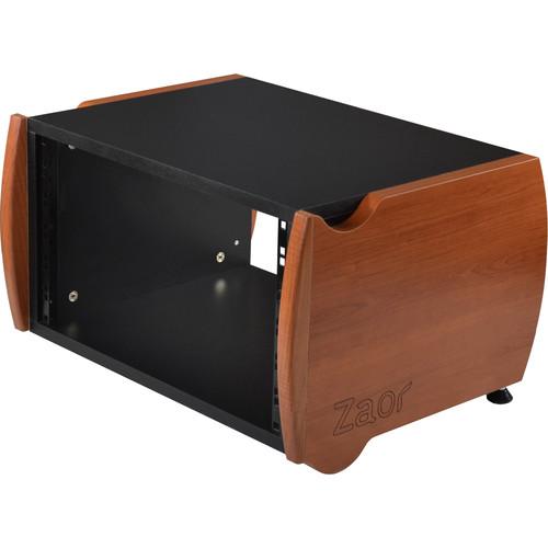 Zaor Miza Desktop Rack (6 RU, Black Cherry)