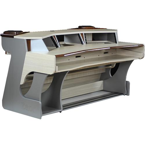 Zaor Miza X2 Studio Desk (Titanium/Wenge)
