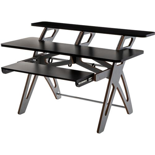 Zaor Yesk Workstation Desk (8 RU, Jungle Gray)