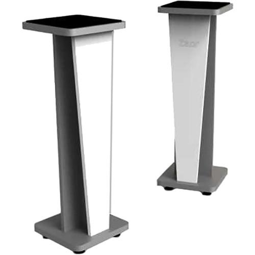 """Zaor Croce 42"""" Fixed Speaker Stand (White Gloss)"""