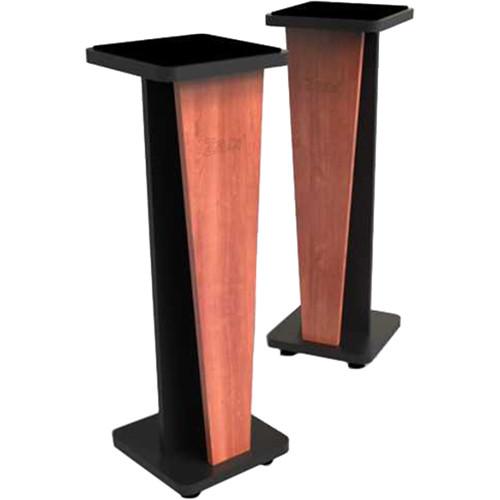 "Zaor Miza V 36"" Fixed Speaker Stands (Pair, Black Cherry)"
