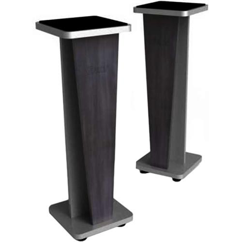 "Zaor Miza V 42"" Fixed Speaker Stands (Pair, Black)"