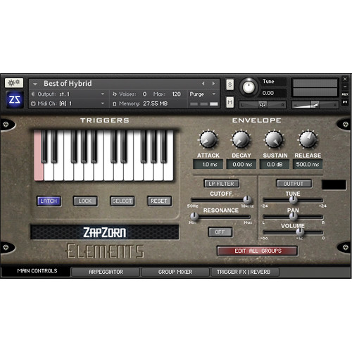 Zapzorn Elements - Multi-Layered Sound Design Tool (Download)